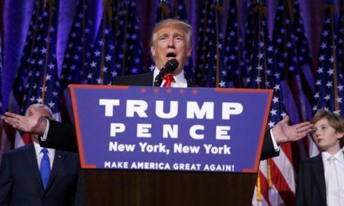 Donald Trump: trois mois de zizanie et de volte-face