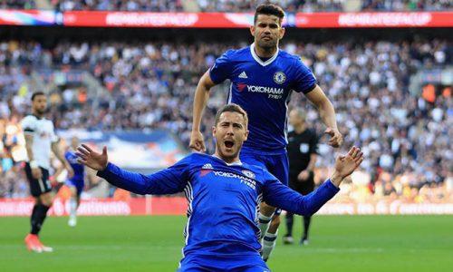 Chelsea s'offre Tottenham (4-2) et une finale de Coupe