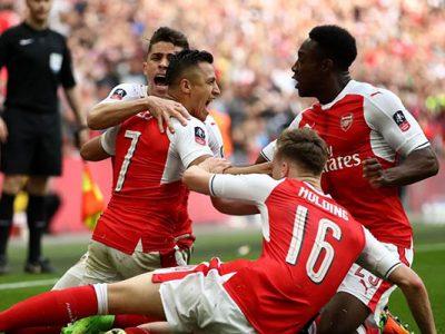 Arsenal élimine Manchester City (2-1) et rejoint Chelsea en finale
