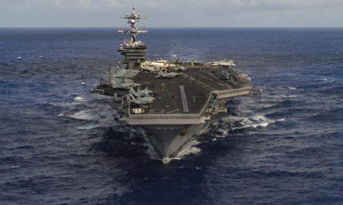 Etats-Unis-Corée du Nord: l'armada promise par Trump encore loin de son but