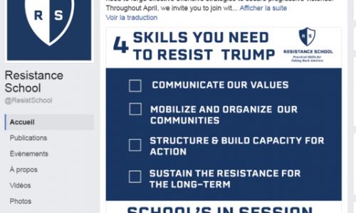 Des étudiants d'Harvard créent une « école de la résistance » à Donald Trump.