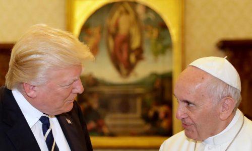 La paix, sujet majeur du tête-à-tête entre le pape François et Donald Trump