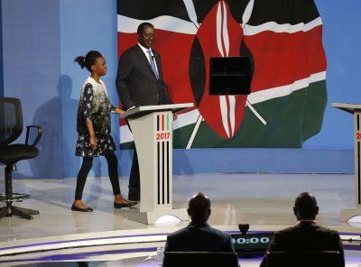 Kenya : Uhuru Kenyatta ne s'est pas présenté pour débattre avec Raila Odinga à la télévision.
