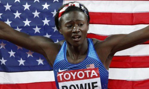 Athlétisme: la surprise Bowie, Darien et Lavillenie prennent date