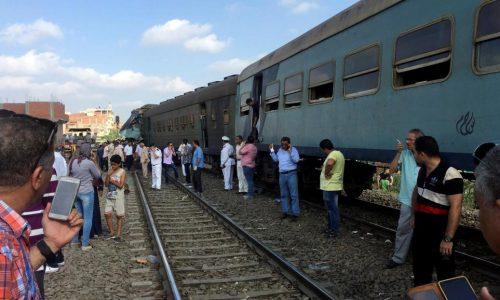 Egypte: au moins 40 morts dans une collision entre deux trains