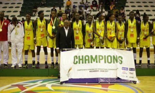 Le Mali remporte son cinquième titre consécutif de Champion d'Afrique des U16 Féminin.