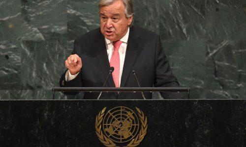 Le chef de l'ONU met en garde contre le risque d'une guerre avec la Corée du Nord