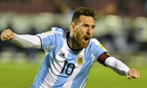 Avec un triplé, Lionel Messi envoie l' Argentine au Mondial 2018