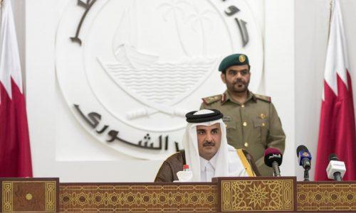 Malgré l'embargo, l'émir du Qatar juge que son pays ne s'est jamais mieux porté.