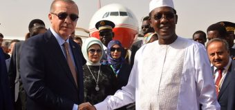 Erdogan en visite au Tchad