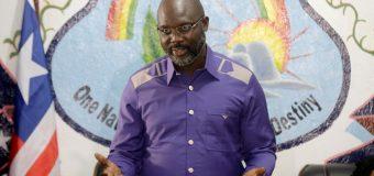 George Weah : «Rendre hommage aux Libériens en améliorant leurs vies»