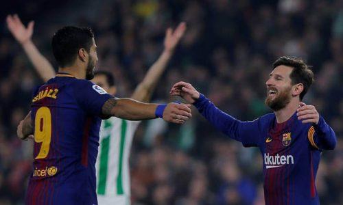 Liga: Le FC Barcelone facile vainqueur à Betis (0-5)