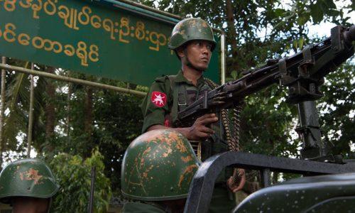 L'armée birmane confirme pour la première fois l'existence d'un charnier de Rohingyas
