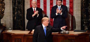 Discours sur l'état de l'Union : Donald Trump se pose en rassembleur.
