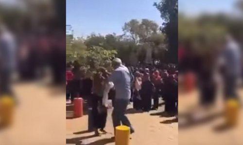 Au soudan, la vidéo d'un doyen filmé en train de frapper des étudiantes suscite l'indignation.