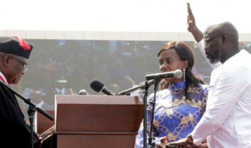 À Monrovia, George Weah promet de construire « un nouveau Liberia »