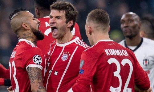 Ligue des champions : Le Bayern Munich étrille Besiktas (5-0)