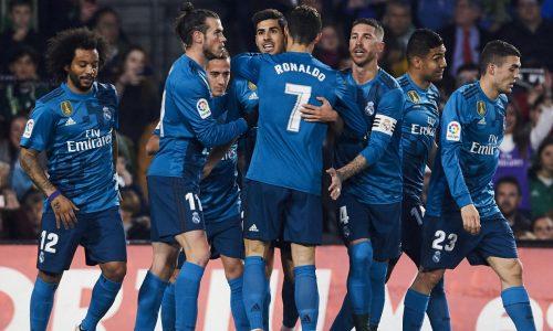 Liga : Le Real Madrid s'impose sur le terrain du Betis (3-5)