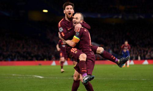 Ligue des champions: Lionel Messi sauve le Barça sur la pelouse de Chelsea