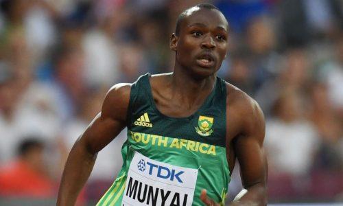 Athlétisme : la sensation sud-africaine Clarence Munyai