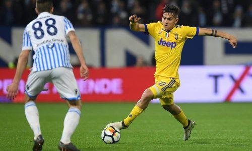 Serie A : La Juventus Turin stoppée sur le terrain de la Spal