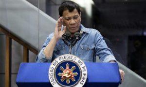Le président philippin a besoin d'un