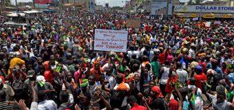 Interdiction des marches de l'opposition togolaise.