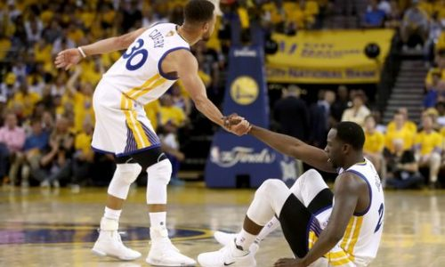NBA : Golden State mène 2 – 0