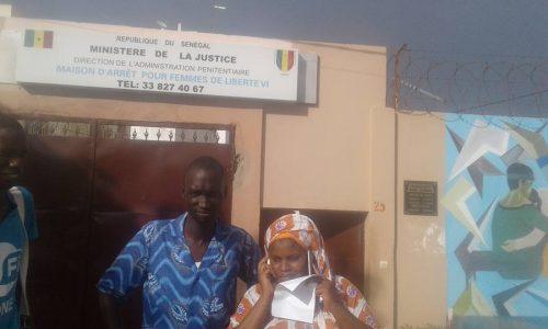 Photomontage du Président : Oulèye Mané et Cie libérés