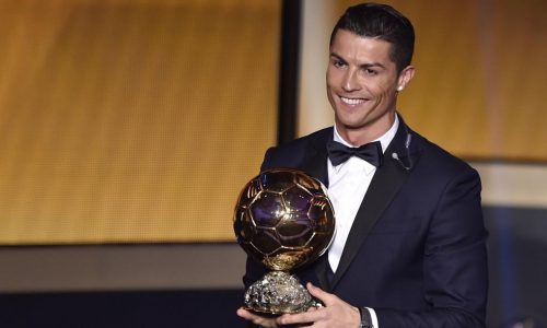 Cristiano Ronaldo Ballon d'Or France Football 2017