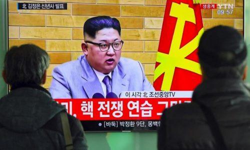 La Corée du Nord capable d'»affronter n'importe quelle menace nucléaire des États-Unis», selon Kim Jong-un.