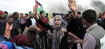 A la frontière de la bande de Gaza, une « grande marche du retour » pacifique mais meurtrière