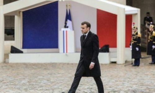Macron salue «l'esprit français de résistance» incarné par le gendarme Arnaud Beltrame