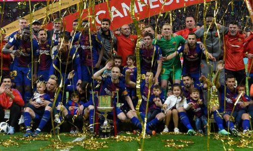 Coupe du Roi: Le FC Barcelone sacré après avoir écrasé le FC Séville