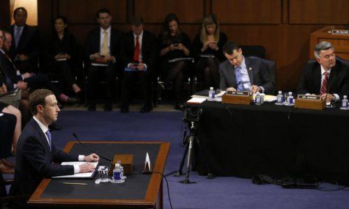 Scandale Facebook: le mea culpa de Mark Zuckerberg devant le Congrès