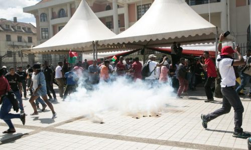 Madagascar: violents affrontements lors du rassemblement de l'opposition