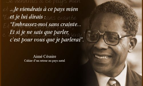 [Video] Aimé Césaire, sa vie son œuvre par son biographe.