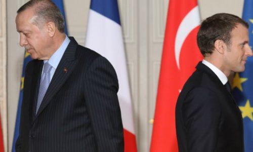 Kurdes en Syrie : le président turc Erdogan accuse la France d'être «complice des terroristes»